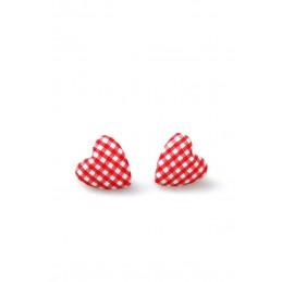 Boucles d'oreilles Sweet Heart Vichy