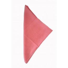 Foulard Polka rose à pois