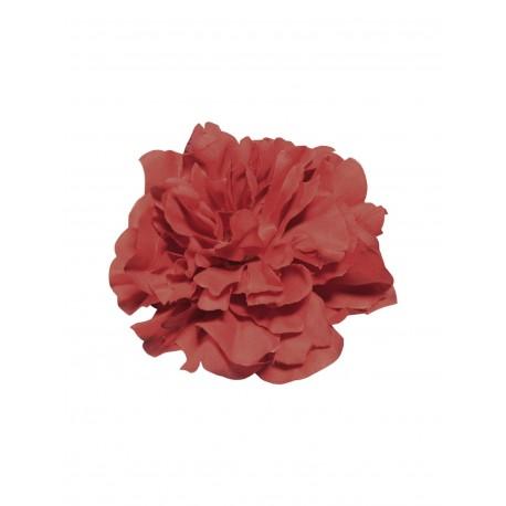 Pince broche à cheveux Fleur rouge