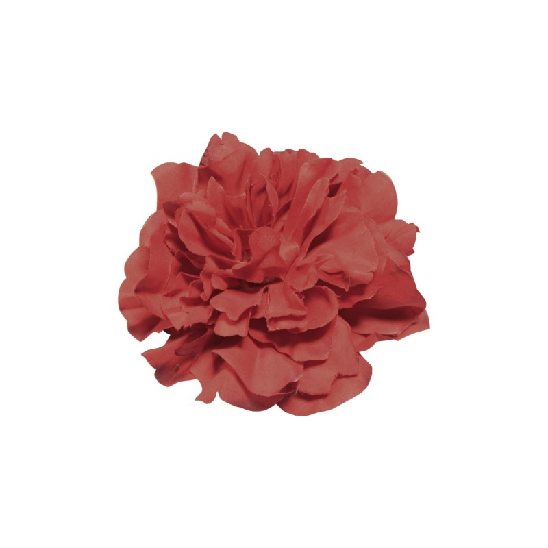 Pince Broche A Cheveux Fleur Rouge Pin Up Addict