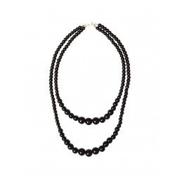 Collier de perles double