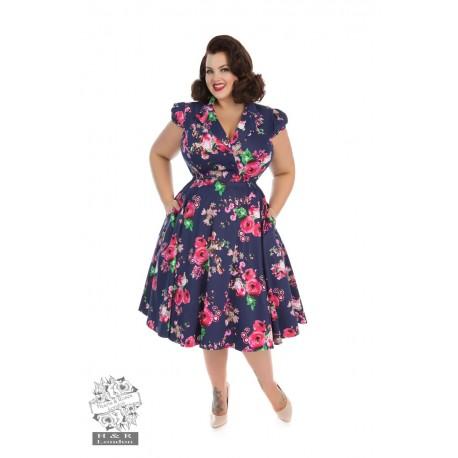 Garden floral tea dress