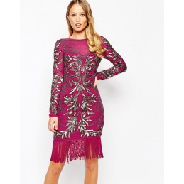 Robe Gatsby charleston rouge