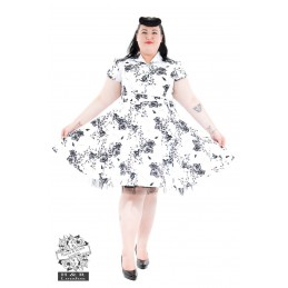 Grandes tailles 2 pin up addict - Robe pin up annee 50 ...