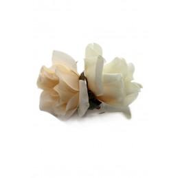 Pince à Cheveux double rose