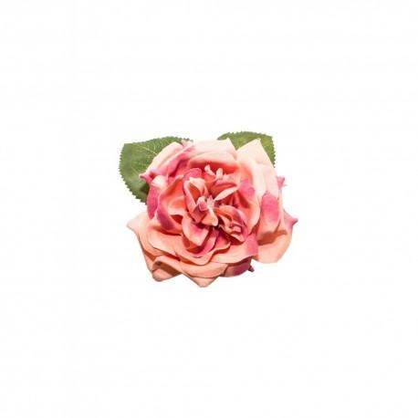 Pince à cheveux Broche Rose jaune