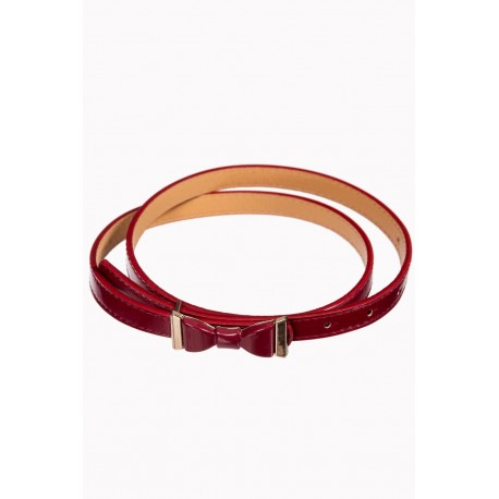 Ceinture summer love bordeaux