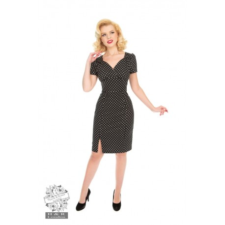 Amélia polka dress