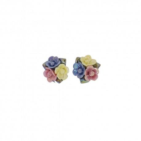 Boucles d'oreilles sweet roses