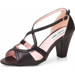 Savannah High Heel Lulu Hun Noires