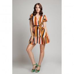 Robe pin-up tropicale Molly