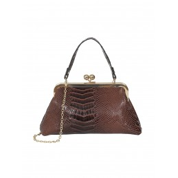 Sac faux croco Doris