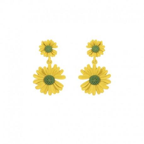 Boucles d'oreilles Flower power